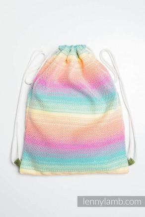 Plecak/worek z materiału chustowego - MAŁA JODEŁKA WYOBRAŹNIA