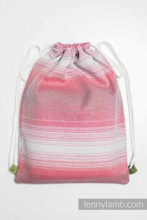 Plecak/worek z materiału chustowego - MAŁA JODEŁKA ELEGANCJA