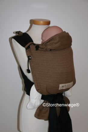 Storchenwiege BabyCarrier 2015 Cafe