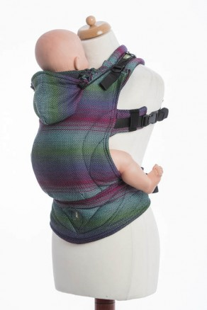 Nosidełko Ergonomiczne , Baby Size IMPRESJA DARK - Druga Generacja