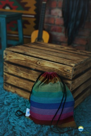 Plecaczek do chusty Little Frog - Ciemny Spektrolit