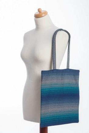 Torba na zakupy z materiału chustowego - ILUZJA