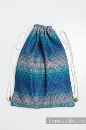 Plecak/worek z materiału chustowego - ILUZJA