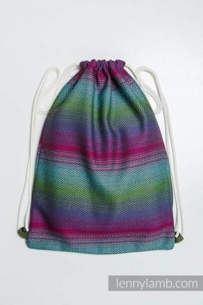 98579f5ba9e11 Plecak worek z materiału chustowego - IMPRESJA DARK