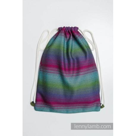 Plecak/worek z materiału chustowego - IMPRESJA DARK