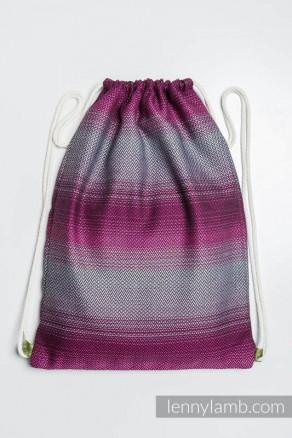 c1d7bd75955b9 Plecak worek z materiału chustowego -INSPIRACJA