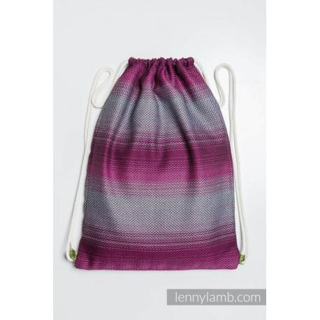 Plecak/worek z materiału chustowego -INSPIRACJA