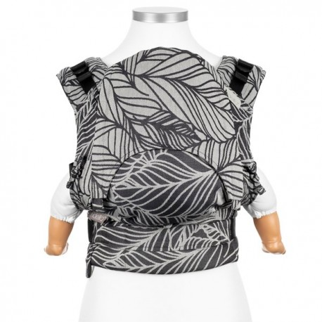 Fidella Fusion Baby 2.0 Dancing Leaves Black & White - nosidło ergonomiczne klamrowe