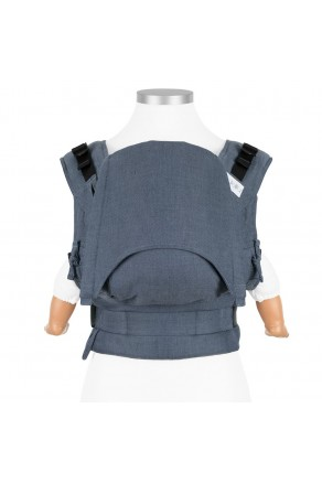 Fidella Fusion Baby Chevron denim blue - nosidło ergonomiczne klamrowe