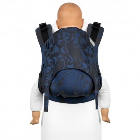 Fidella Fusion Toddler 2.0 Classic Wolf royal blue - nosidło ergonomiczne klamrowe, regulowane