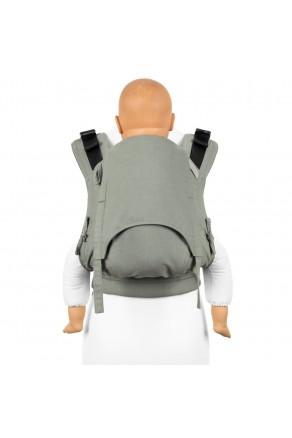 Fidella Fusion Toddler 2.0 Chevron agave green - nosidło ergonomiczne klamrowe, regulowane