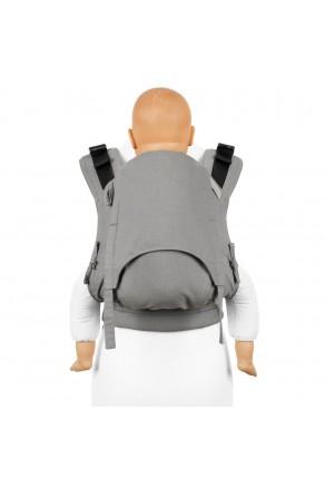 Fidella Fusion Toddler 2.0 Chevron light gray - nosidło ergonomiczne klamrowe, regulowane