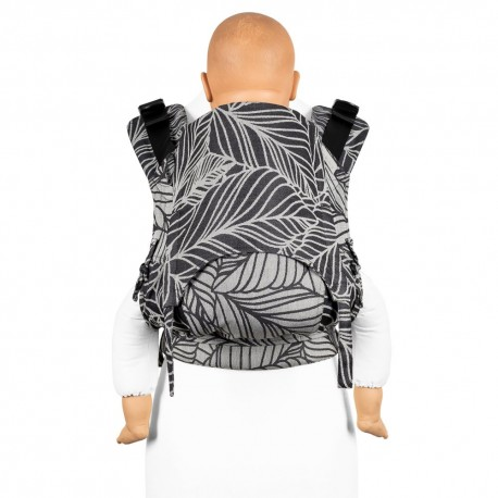 Fidella Fusion Toddler 2.0 Dancing Leaves - black & white- nosidło ergonomiczne klamrowe