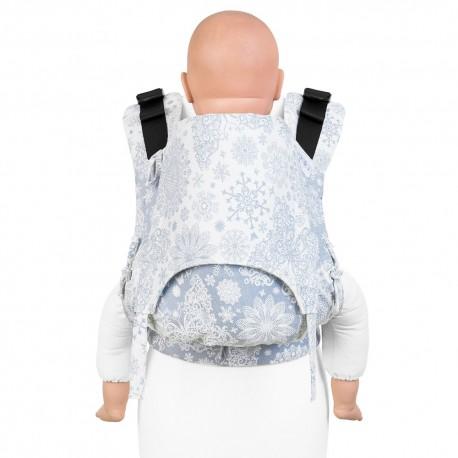 Fidella Fusion Toddler 2.0 Iced Butterfly light blue - nosidło ergonomiczne klamrowe, regulowane