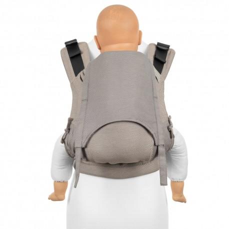 Fidella Fusion Toddler 2.0 Lines beige - nosidło ergonomiczne klamrowe, regulowane