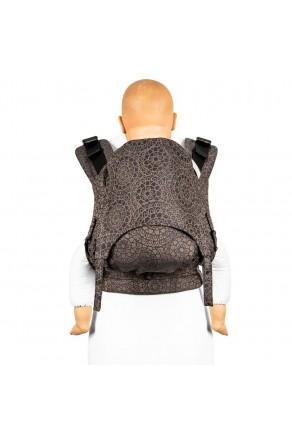 Fidella Fusion Toddler 2.0 Mosaic mocha brown - nosidło ergonomiczne klamrowe