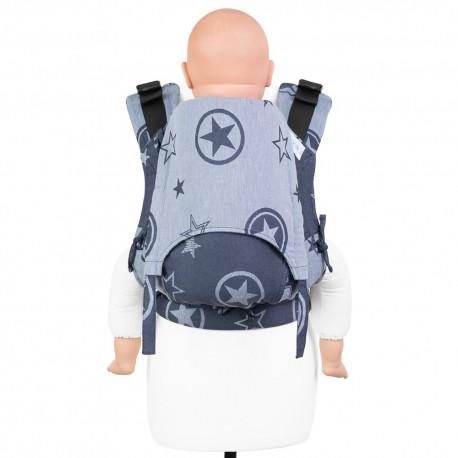 Fidella Fusion Toddler 2.0 Outer Space blue - nosidło ergonomiczne klamrowe