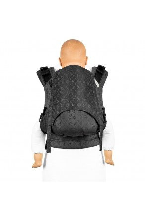 Fidella Fusion Toddler 2.0 Saint Tropez charming black - nosidło ergonomiczne klamrowe