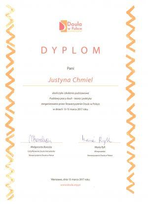 Dyplom Doula